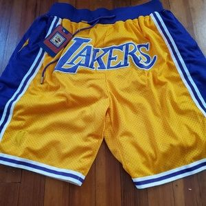 Just Don Shorts - Just Don L.A. Lakers Basketball Shorts